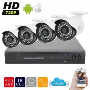 pack 4 camera de surveillance